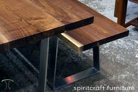 diy stainless steel table top custom solid hardwood table tops live edge slabs