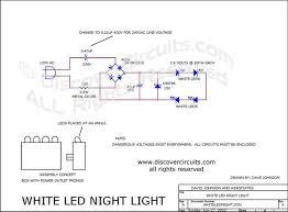 circuit white led night light circuit designed by david a