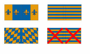 French Flag Banner Painting Landsknechts Flags U0026 Banners