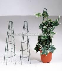 Obelisk Trellis Metal Garden Metal Obelisk Tomato Cage Iron Flower Pot Trellis Plant