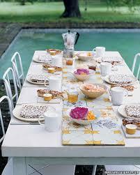 garden party ideas martha stewart