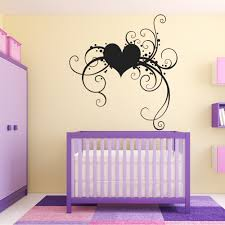 wallstickers folies heart wall stickers heart wall stickers