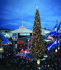 pier 39 tree lighting celebration