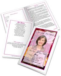 funeral program wording funeral program wording exles of wording for funeral programs