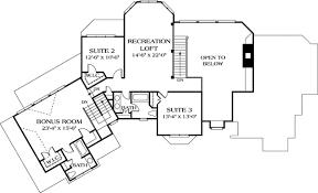 room floor plan free free flowing floor plan 17666lv architectural designs house