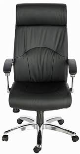 High Back Leather Armchair Madison Executive High Back Eco Leather Chair With Chrome Base