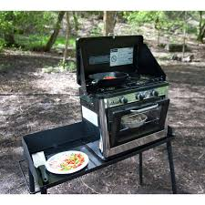 Outdoor Kitchens For Camping by Outdoor Camp Oven 2 Burner Range And Stove Camp Chef Coven