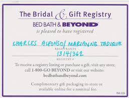 bed bath bridal registry bed bath and beyond bridal registry 1 bed bath and beyond wedding