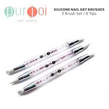 silicone nail art brushes u2013 purjoi nail studio