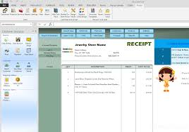 Jewelry Inventory Spreadsheet Jewelry Receipt Template
