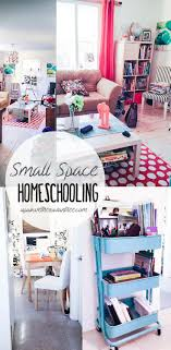 School Desk Organization Ideas Homeschool Room Ideas Small Spaces Melanies Home School Desk