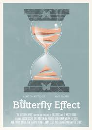 the butterfly effect minimal posters ligatures design