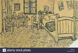 la chambre d arles vincent gogh la chambre de vincent à arles sketch lettre