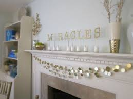 Jewish Home Decor Remodelaholic Home Sweet Home For Christmas Mantel Inspiration