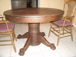Dining Room Amazing Best  Round Oak Table Ideas On Pinterest - Antique oak kitchen table
