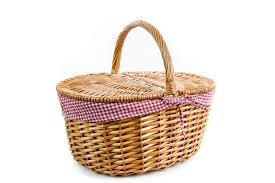 picnic basket set for 2 all the kids another one but they would a proper