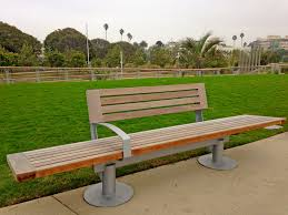Bench Built Into Wall Tongva Park And The Future Santa Monica U2013 West Centric