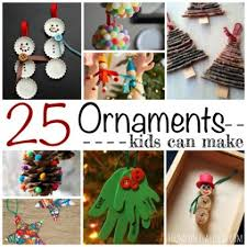 25 ornaments can make