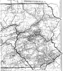 Pennsylvania Highway Map by Pennsylvania County Usgs Maps