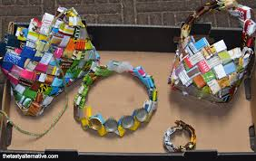 waste material activity ideas art and projects craft