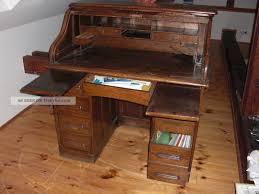 Schreibtisch Antik Schreibtisch Sekretär Rollsekretär Antik Um 1900