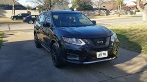 nissan rogue 2017 black 2017 nissan rogue s base trim black youtube
