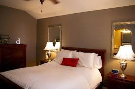 love mirrors behind nightstands lamps home ideas pinterest