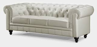 Small Leather Chesterfield Sofa by Chesterfield Sofa