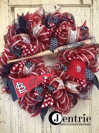 st louis cardinals wreath st louis cardinals sign st louis