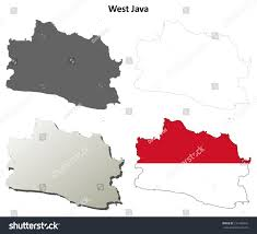 Romania Blank Map by West Java Blank Outline Map Set Stock Vector 231468442 Shutterstock