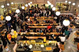 wework invited its members for thanksgiving dinner in apac at