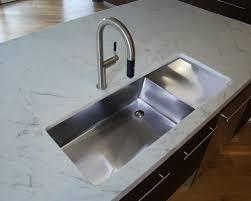 Best Undermount Kitchen Sink by Unique Undermount Stainless Steel Sink With Drainboard 17 Best