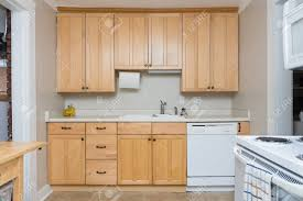 wood cabinets kitchen light clean light wood cabinets in small kitchen space