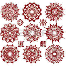 ornament pattern with pattern brash royalty free cliparts