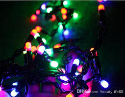 flashing christmas light bulbs 5m28led black hat lights flashing string lights waterproof