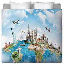 Travel Duvet Cover Travel Custom Bedding Duvet Covers Comforters Sheets U0026 Bed Sets