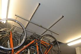 saris cycle glide quick look at ceiling bike storage system