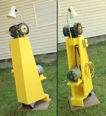 old fashioned u201d bench grinder stand u2013 lungstruck