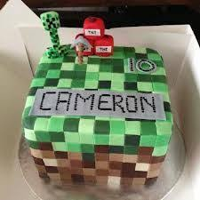 minecraft cake u2014 children u0027s birthday cakes recipes