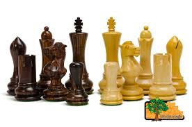 Wooden Chess Set Saturn Pro 48cm 18 9in Wooden Weighted Beautiful Chess Set Ebay