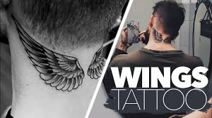 getting my wings necktattoo vlog 22