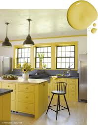 Yellow Kitchen Cabinet 20 Trending Kitchen Cabinet Paint Colors