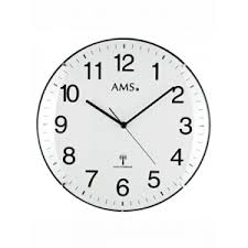 Horloge Murale Ronde Blanche Avec Horloge Murale Blanche Ronde Horloges Murales Fr