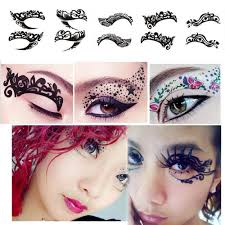 temporary eye eyeshadow eyeliner transfer sticker makeup