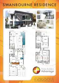 first floor plan of country narrow lot house 46427 2 story plans