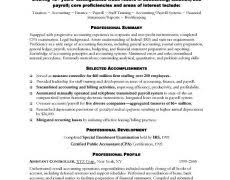 Sample Accountant Resume Accountant Resume Examples 19 Payroll Sample Picture Of