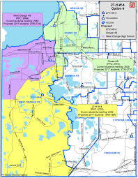 Orlando Florida Zip Codes Map by Relief High Rezoning Maps Unveiled West Orange Times U0026 Observer