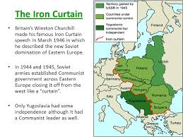 Iron Curtain Speech The Cold War U2013 World War Iii The Technocratic Tyranny