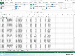 Free Excel Payroll Template Post Payroll Data From Excel To 200