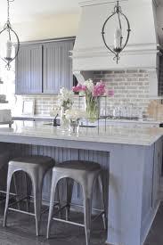 kitchen cool brick backsplash in kitchen brick backsplash white home tour brick backsplash pros and cons